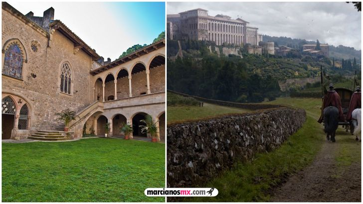 escenarios game of thrones realidad Canet de Mar horn hill