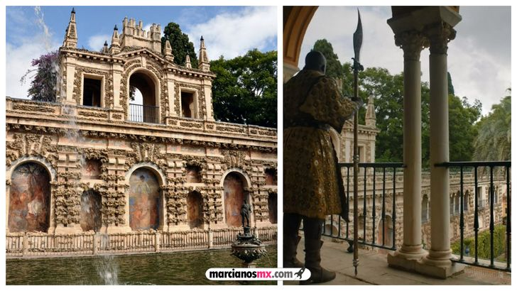 escenarios game of thrones realidad dorne Real Alcázar