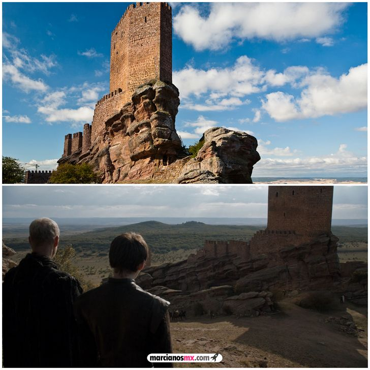 escenarios game of thrones realidad tower of joy