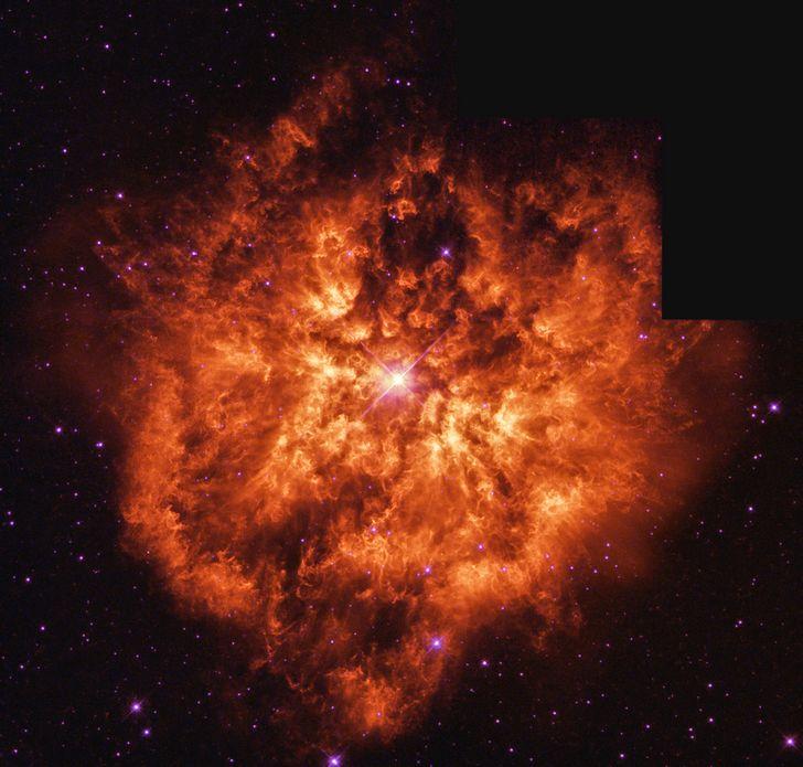 explosion estrella