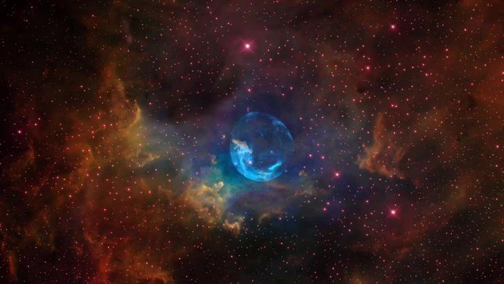 explosion supernova galaxia nebulosa