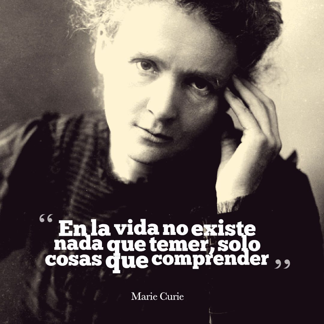 frases cientificos curie temer