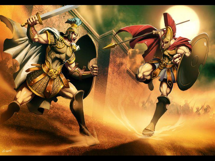 hector vs aquiles