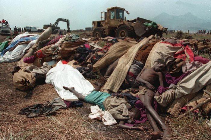 imagen del genocidio en Ruanda 1994