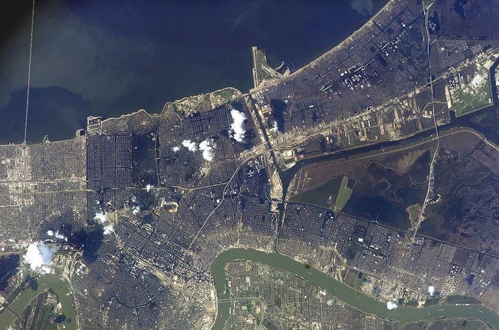 inundaciones en Nueva Orleans huracan Katrina