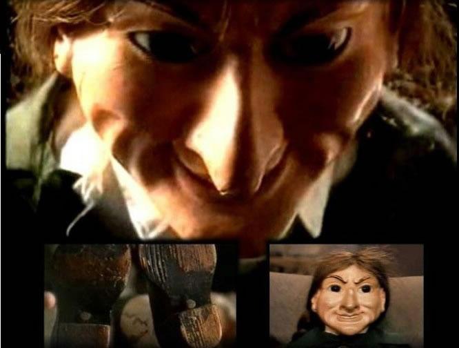 letta marioneta gitana embrujada