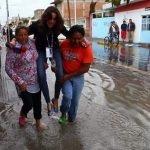 #LadyReportera, la periodista que no quiso mojarse