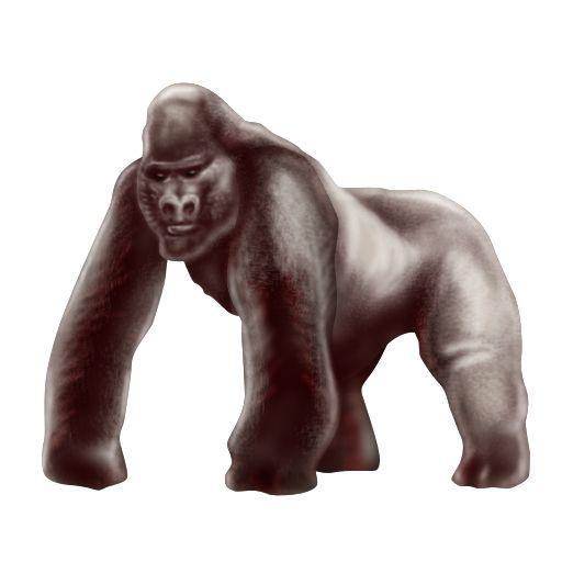 nuevo_emoji_unicode90_gorila