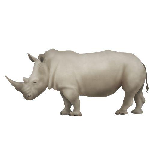nuevo_emoji_unicode90_rinoceronte