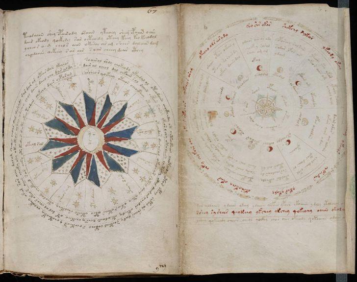 paginas del Manuscrito Voynich (4)