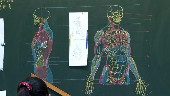 profesor dibujando pizarron (5)