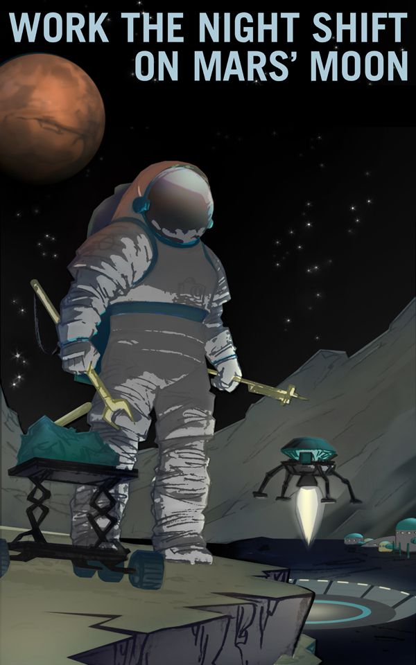 trabajadores nocturnos poster reclutamiento NASA (3)