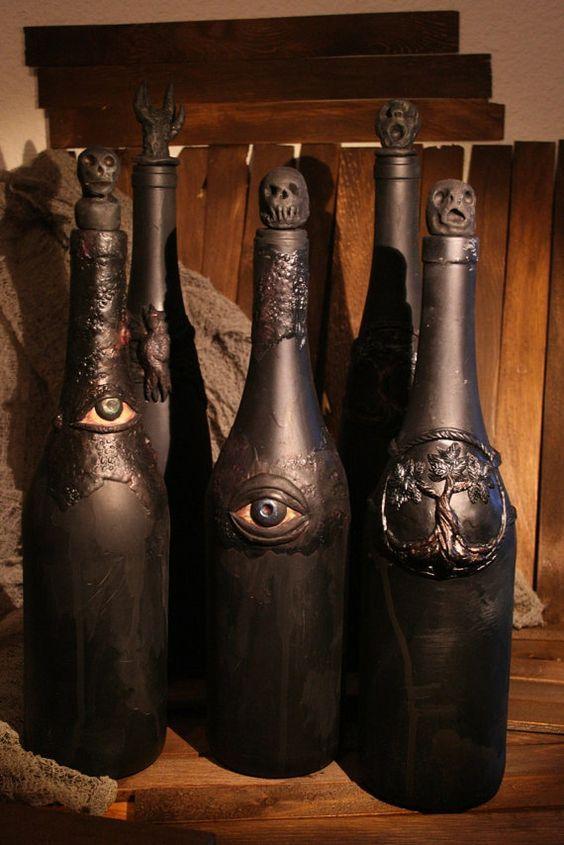 vino extraño botellas raras
