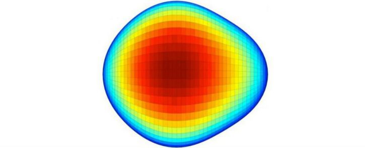 atomo con forma de pera