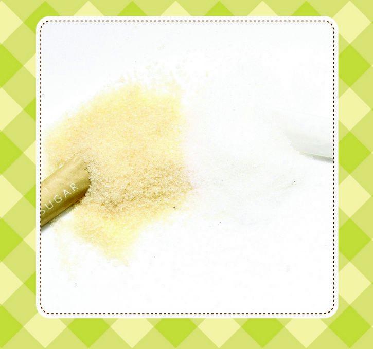 azucar blanca y morena