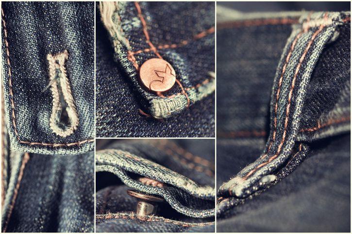 bolsos de un jean