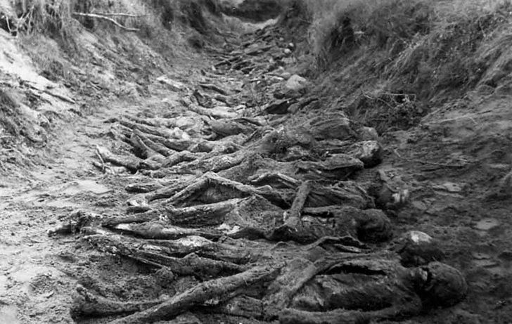 cadaveres en Babi Yar
