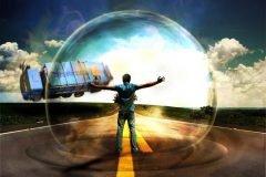 """La ilusión que te hace sentir un """"campo de energía"""" alrededor del cuerpo"""