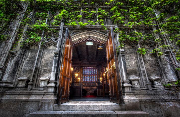entrada universidad de Chicago