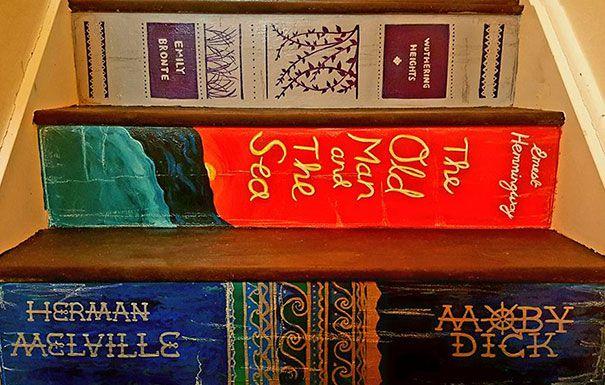 escaleras pintadas libros favoritos (1)