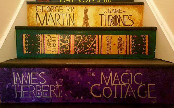 escaleras pintadas libros favoritos (11)