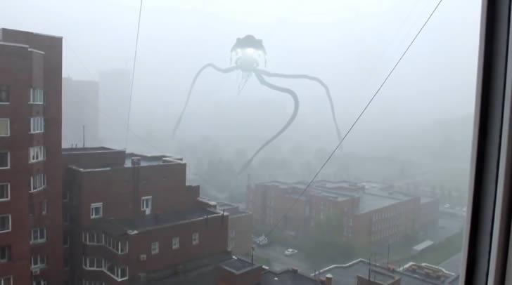 extraterrestre invade ciudad rusia