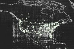 Mapa muestra 18 mil avistamientos OVNI