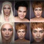 Artista usa maquillaje para transformarse en personajes de Game Of Thrones