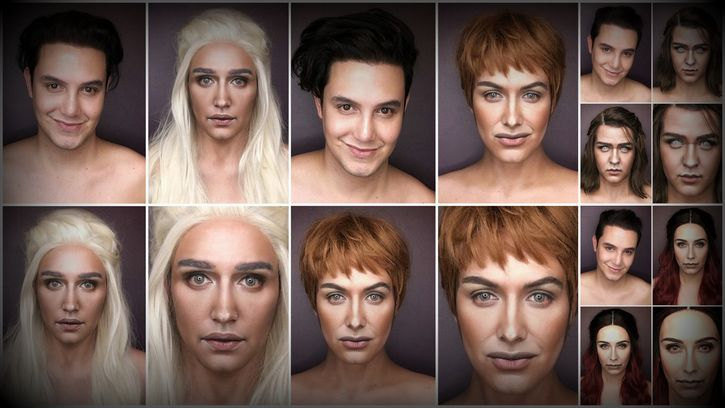 maquillaje game of thrones
