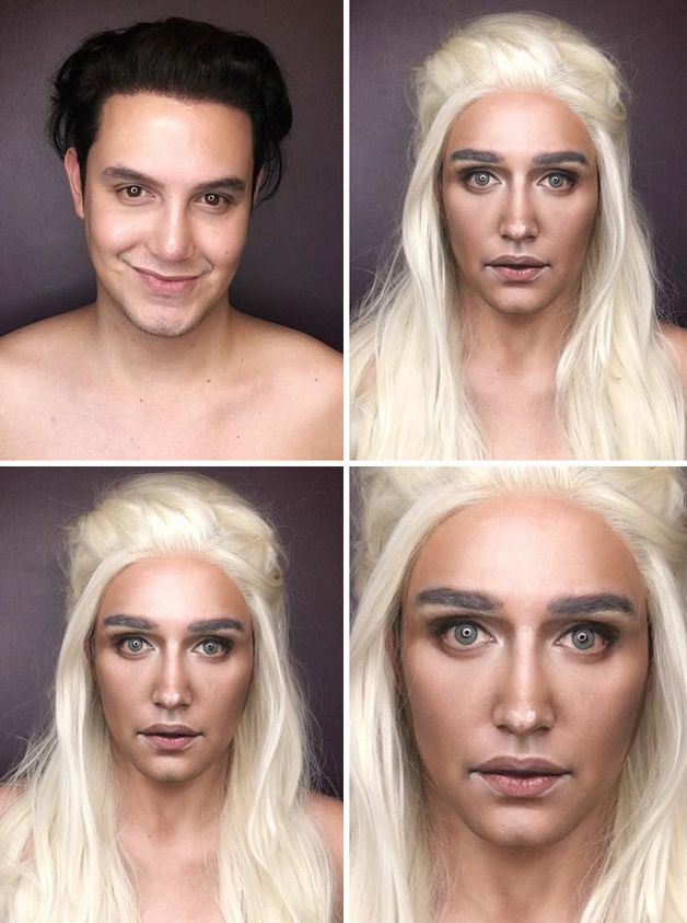 personajes game of thrones maquillaje (2)