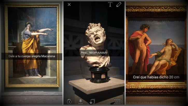 snapchat museos portada