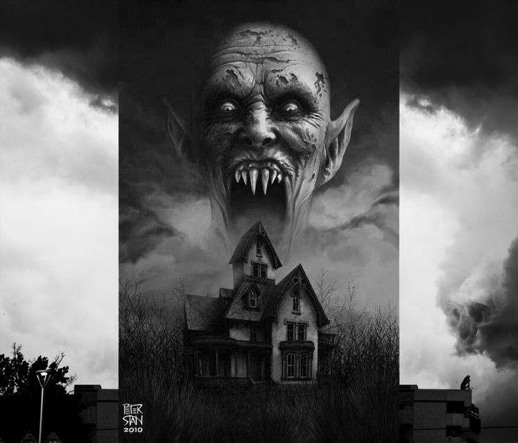 vampiro casa pesadilla