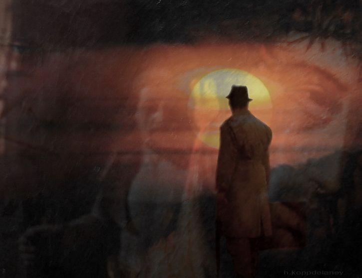 visiones de un hombre muerto