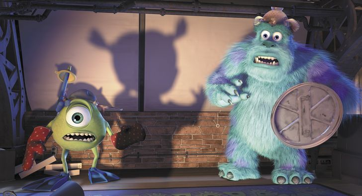 Monsters Inc escena