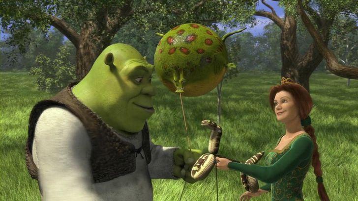 Shrek pelicula 2001