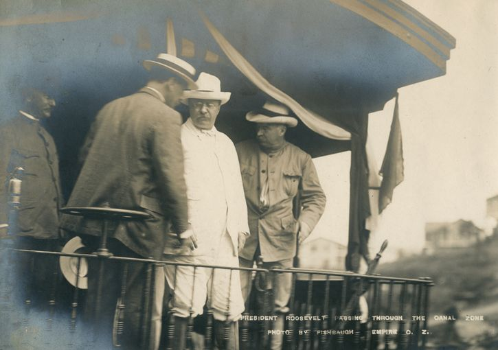 Theodore Roosevelt en panama