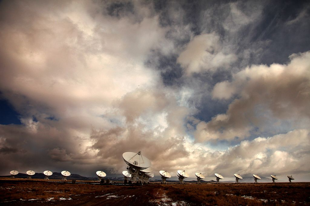 antenas radiotelescopios