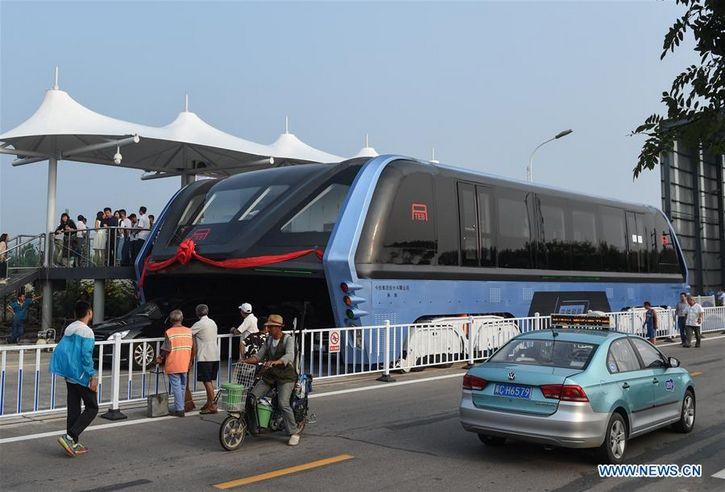 autobus china futurista