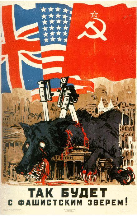 carteles aliados segunda guerra mundial (2)