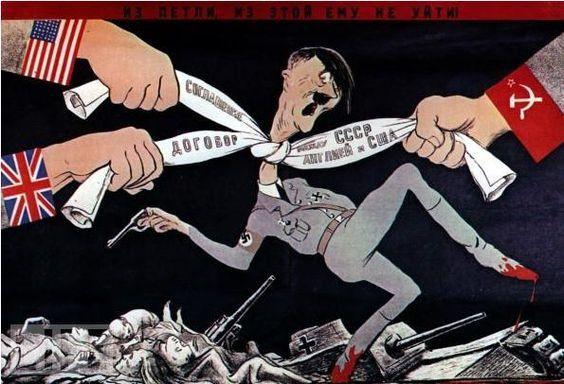carteles aliados segunda guerra mundial (5)