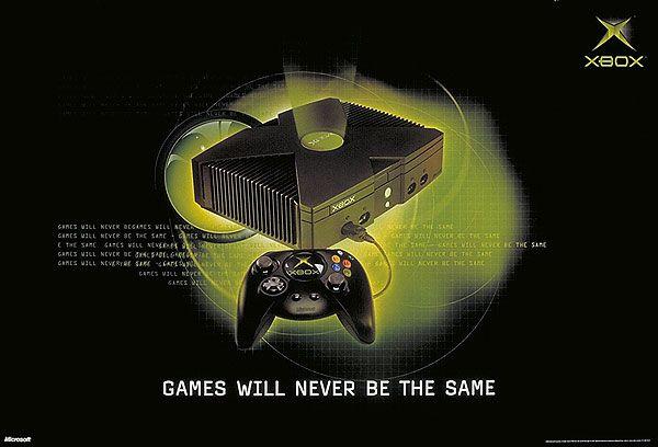 consola xbox 2001