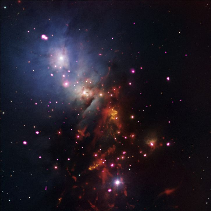espacio exterior estrellas