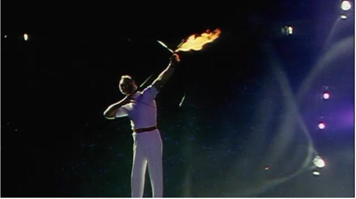 flecha en llamas barcelna 1992 olimpiadas