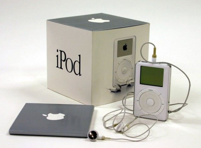 iPod 2001 priemera generacion