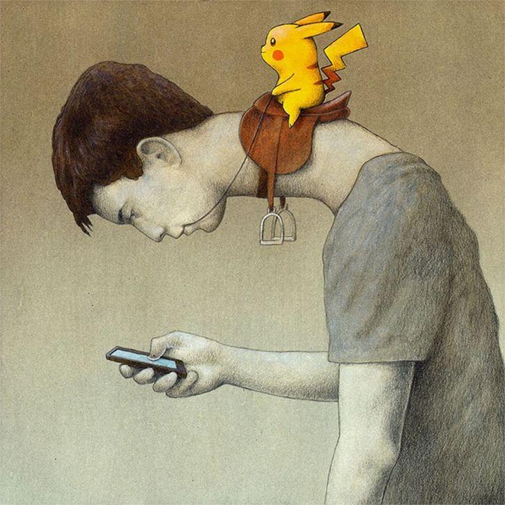 imagen pokemon go esclavitud pikachu