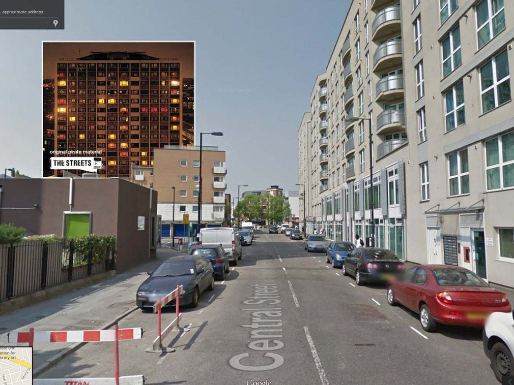 portada de discos clasicos en Google Street View (10)