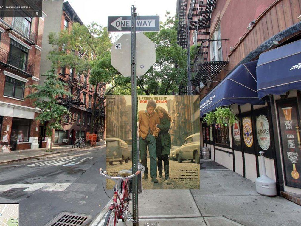 portada de discos clasicos en Google Street View (12)