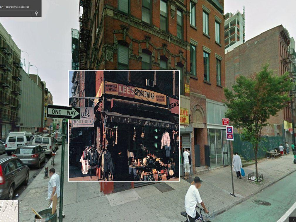 portada de discos clasicos en Google Street View (6)