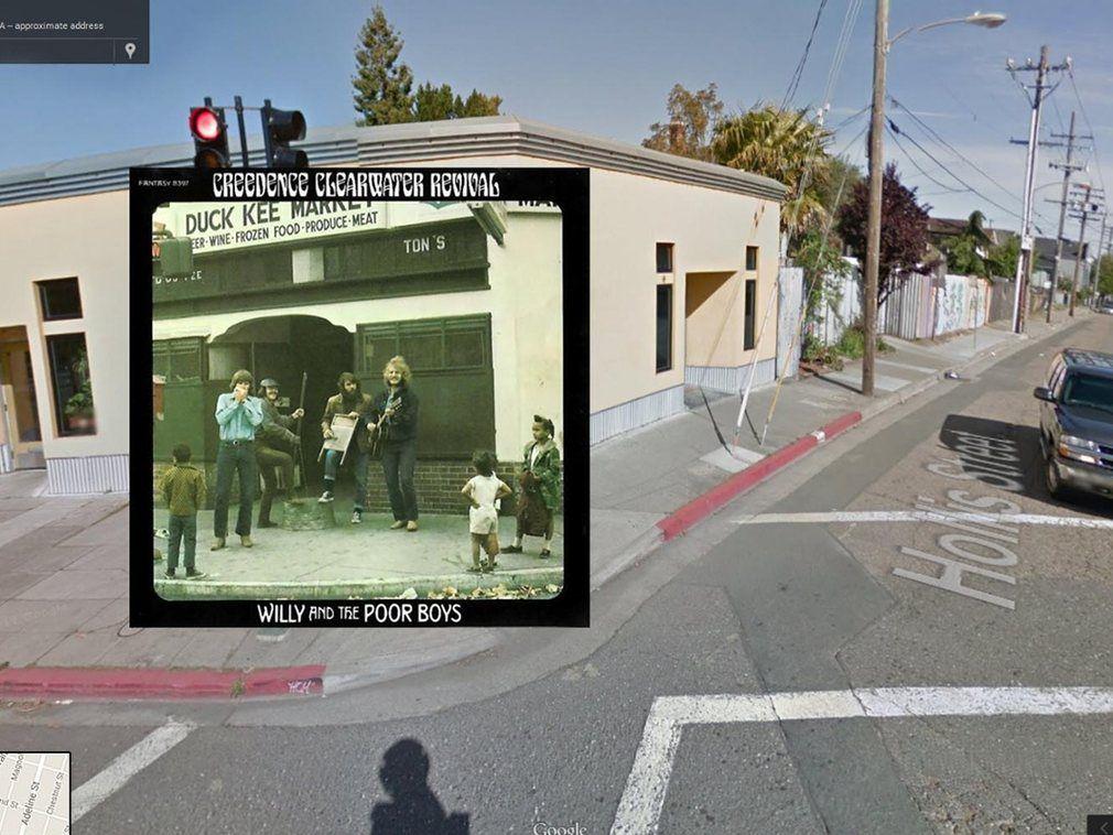 portada de discos clasicos en Google Street View (7)