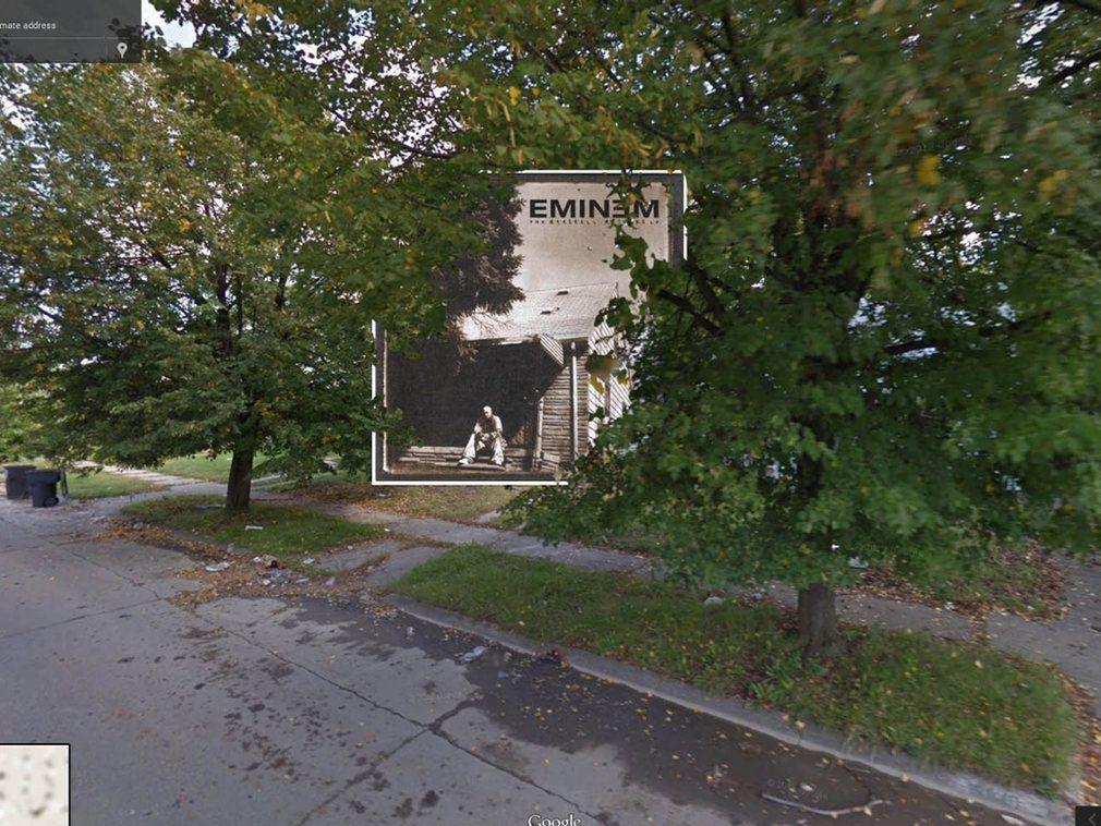 portada de discos clasicos en Google Street View (8)